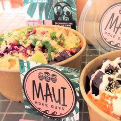 vegetarische Tofu Wave Bowl bei den Maui Poke Guys Hamburg