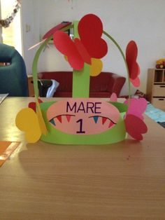 Learning Centers, Pre School, Mother Day Gifts, Cool Kids, Happy Birthday, Presents, Paper Crafts, Butterfly Birthday, Ideas