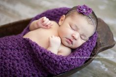 Baby Girl Plum Cocoon Crochet Newborn by OopsIKnitItAgain on Etsy, $38.00
