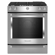 Shop KitchenAid  30-in 5-Burner Convection Single Oven Dual Fuel Range (Stainless Steel) at Lowe's Canada. Find our selection of ranges at the lowest price guaranteed with price match + 10% off.