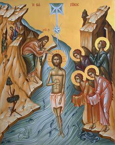 Roman Church, Orthodox Christianity, John The Baptist, Orthodox Icons, Catholic, Religion, Princess Zelda, Symbols, Painting
