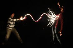 Unique way to make a cool photography with light just by painting in the air in front of the camera with long exposure (slow shutter speed). Description from pinterest.com. I searched for this on bing.com/images