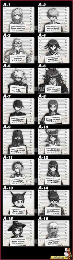 V3 characters
