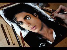 ▶ Drawing Michael Jackson - YouTube