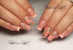 Immagine IMG 8473 in album Beautiful nails Toe Nails, Pink Nails, French Manicure Nails, Exotic Nails, Cat Eye Nails, Nagellack Trends, Formal Nails, Luxury Nails, Best Acrylic Nails