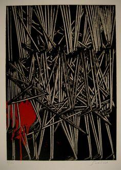 Emilio Scanavino Paul Celan, Action Painting, Textiles, Italian Renaissance, 2d Art, Fiber Art, Printmaking, Contemporary Art, Abstract Art