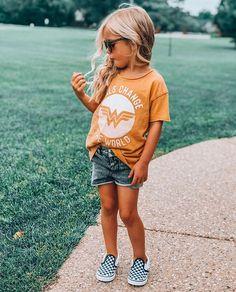 Target ww tee vans outfit little girls