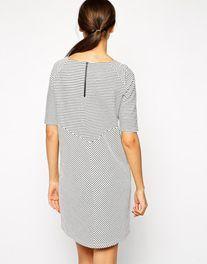 Y.A.S Wavey Striped Dress