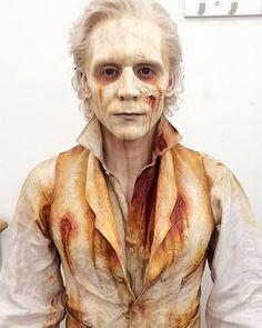 "David Marti (Special fx make-up artist): ""Tom almost ready. Contact lenses and going on set. Shooting Crimson Peak 2014"". Full size image: http://ww2.sinaimg.cn/large/6e14d388gw1ezramkqyatj20m80rs0vb.jpg Source: https://www.instagram.com/p/BAPZzJxmQ2e/"