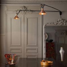 DE ZAAK Design en Advies - Lampe Gras wandlamp No 213 L Double
