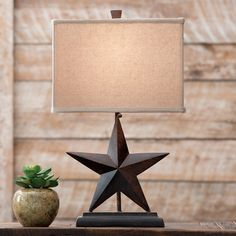 Texas Star Table Lamp In 2019 Texas Style Bedroom