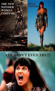 Wonder woman pero no copies porque copias