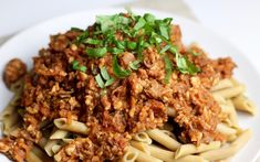 Hearty Bolognese Sauce with Tempeh and Sun-Dried Tomatoes | The Culinary Gym