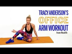 Arm Workout You Can Do at The Office with Tracy Anderson | Health - YouTube