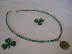 ERIN GO BRAGH Choker / Necklace with by ROOTSJewelryDesign on Etsy, $14.00