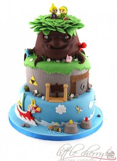 awesome wind waker cake
