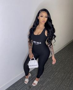 Swag Outfits For Girls, Classy Outfits, Girl Outfits, Cute Outfits, Fashion Outfits, Casual Outfits, Dope Fashion, Next Fashion, High Fashion