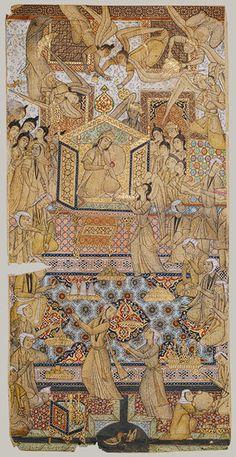 The Queen of Sheba Enthroned [Iran] (1979.518.1) | Heilbrunn Timeline of Art History | The Metropolitan Museum of Art