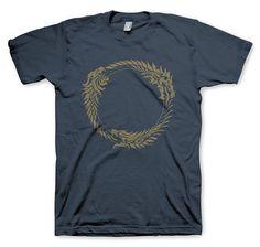 The Elder Scrolls Online T-Shirt Ouroboros. Hier bei www.closeup.de
