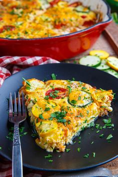 Corn and Zucchini Cheddar and Tomato Quiche