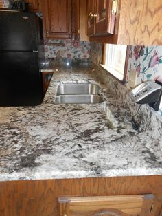 Bianco Antico Granite Counter Top Installed 4 1 13