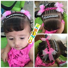 Se nos vienen en YouTube varios vídeos de #peinados con cintaya mañana empezamos a publicar algunos de ellos Toddler Hair, Little Girl Hairstyles, Cute Little Girls, Little Princess, Diana, To My Daughter, Braids, Hair Beauty, Victoria