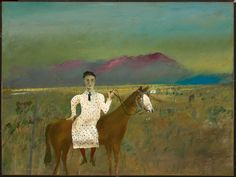Australian Artist Sidney Nolan painted a series on Ned Kelly. This is of Steve Hart (from the Kelly Gang) dressed as a girl. Ned Kelly, Australian Painting, Australian Artists, Sidney Nolan, 12 November, Classic Image, Spring Art, The Guardian, Art Google