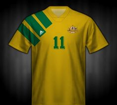 Australia Olympic home shirt for 1992.