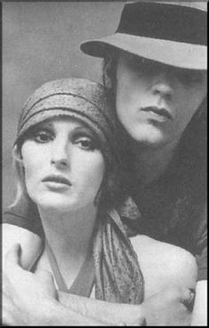 Candy Darling & Jeremiah...love their story together, even though it's very sad.