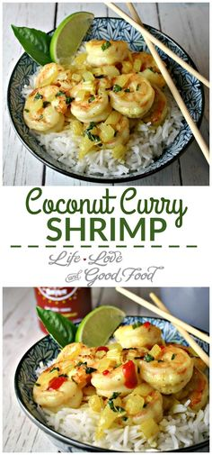 Coconut Curry Shrimp | Life, Love, and Good Food: