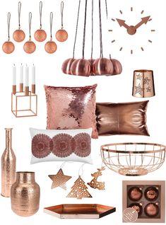 Dé trend op kerst- en interieurgebied: rosé of koperen kerstdecoratie en woonaccessoires. Kijk hier voor inspiratie en shop direct.