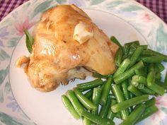 Pollo con Salsa de Ajos y Limas, Cocina para Diabeticos