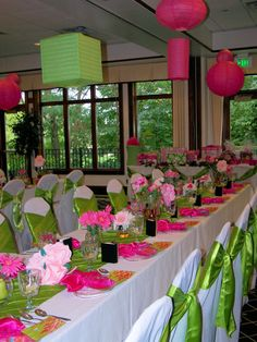 Recent party in Lime & Green colors