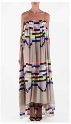 Obsessed with this Tibi dress. Even though I'd look like a sack of potatoes.