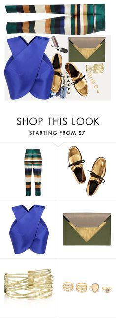 """""""No, It's not too much"""" by lana-97 ❤ liked on Polyvore featuring Lands' End, Rosetta Getty, Marni, Carven, Dareen Hakim and LULUS"""