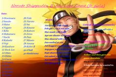Naruto Birthday Scenario Game | Naruto Shippuden Birthday Game Naruto shippuden b-day love