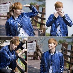 BTOB's Sungjae is all smiles looking adorable in bts cuts from upcoming drama 'School 2015' | allkpop.com