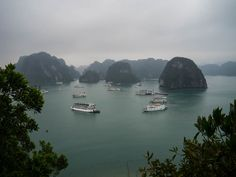 Vietnam - Episodes of a Trip Ha Long Bay, Thing 1, Vietnam, Cruise, River, Day, Outdoor, Inspiration, The Journey