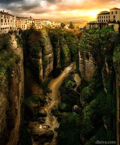 Ronda, view from Puente Nuevo by Domingo Leiva / 500px E