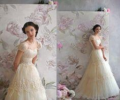 Best Romantic Weddings: Jane Austen inspired wedding dress...love.