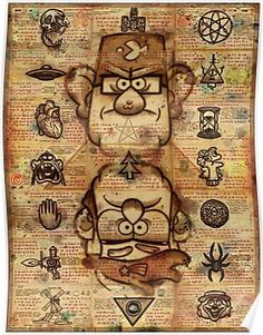 Gravity Falls - The Big Picture Poster