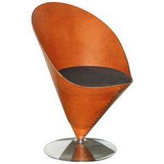 Verner Panton Cone Chair VP01 Signed Number 38