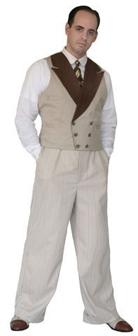 reVamp Vintage Clothing: 1910s clothing, 1920's fashion, 1930s fashion, 1940s clothing, 1950s vintag: Victor Trousers