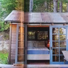 Tent cabin Sunset Magazine May 2012