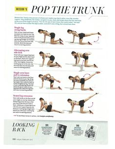 The Ultimate Get Your Butt in Shape Guide from InStyle mag
