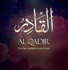 Names Of Allah ❤️ القادر
