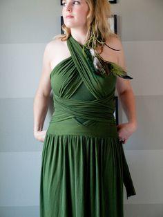 DIY wrap dress