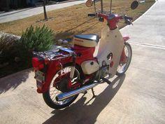 SOLD: 1980 Honda C70 Passport - $1,100 - TWT Forums Honda Cub, Helmets, Cubs, Passport, Touring, Motorcycles, Wheels, Army, Racing