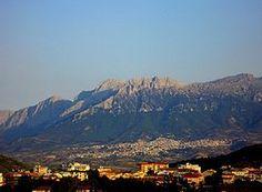 Oliena e Monte Corrasi
