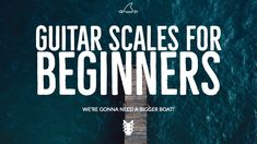 "If you're a beginning guitar player, you've probably heard the word ""scales"" before but may not be sure where to start. If you've tried a few, you may be wondering what the point is to this often tedious guitar playing chore. There are a few reasons why adding scales to your practice routine is super important: Scales build technique, strength and coordination in both hands on the guitar. Scales are the basis for all melody,"